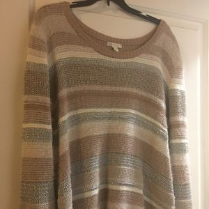 Cato sweater fuzzy and warm size xl